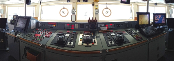 The bridge of the R/V Atlantis. © Jason Major