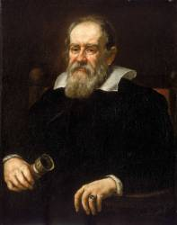Galileo would have approved of Dave Scott's experiment. (1636 portrait of Galileo.)