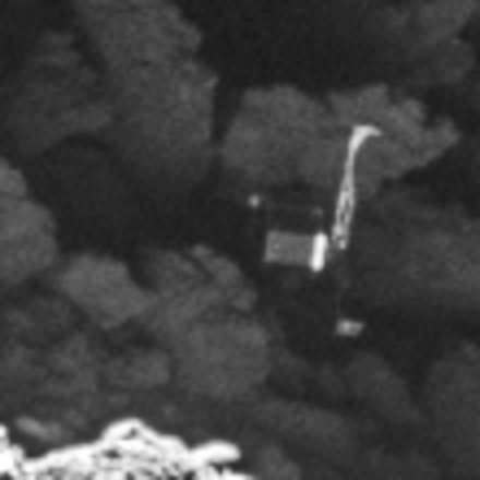ESA's Philae lander identified on the surface of comet 67P