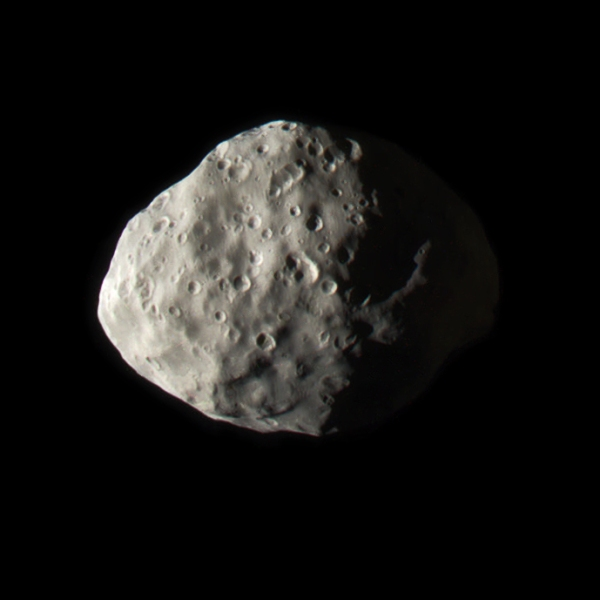 Color-composite of Epimetheus from Jan. 30, 2017. Credit: NASA/JPL-Caltech/SSI/Jason Major)