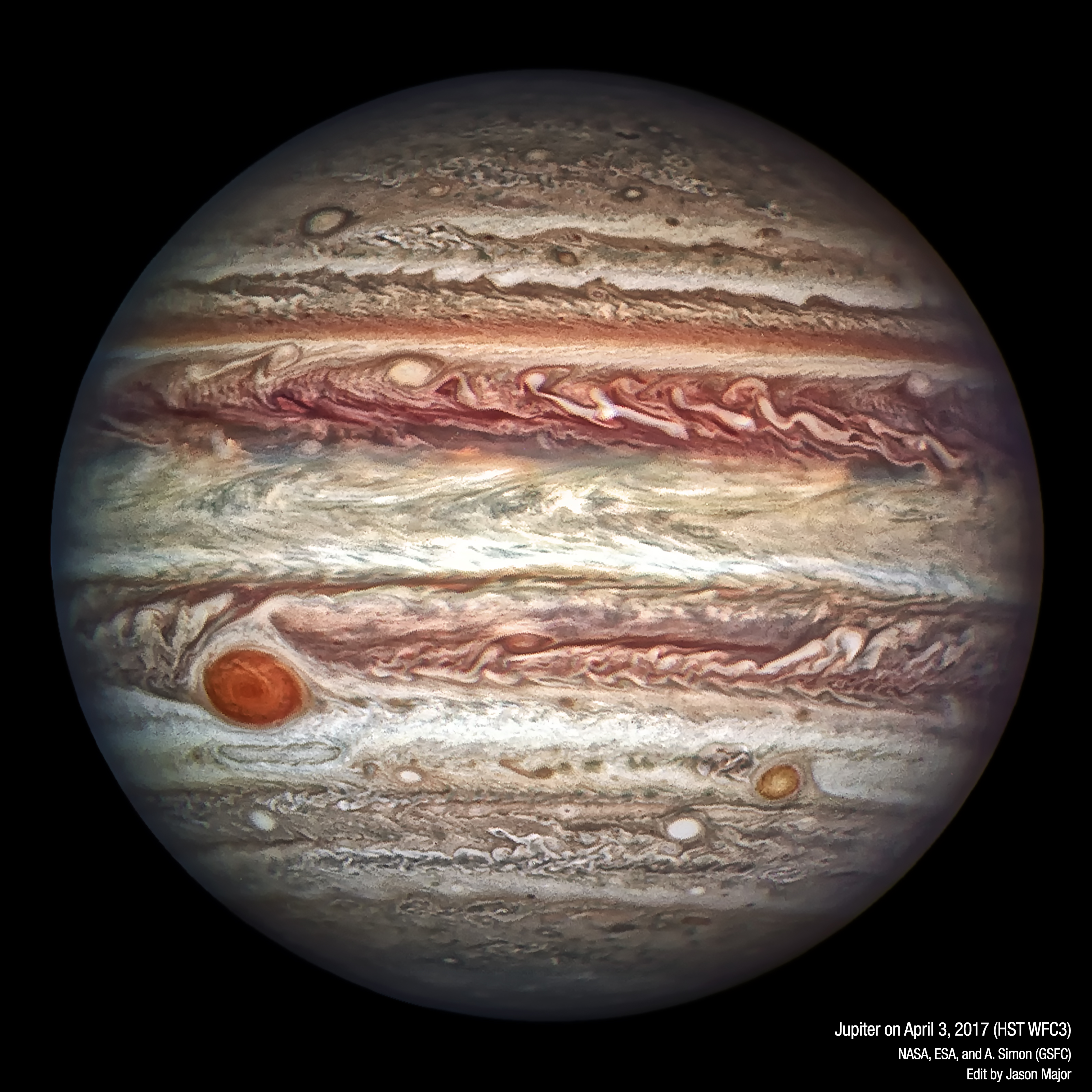 Here's Hubble's Newest Knockout Portrait of Jupiter ...