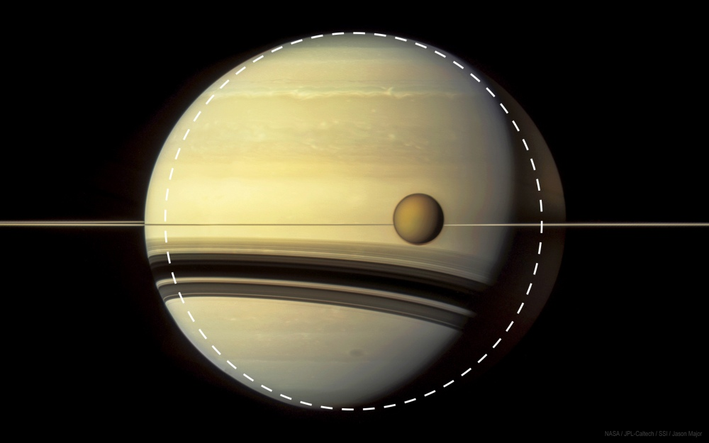 Saturn Titan 5-6-12 with circle
